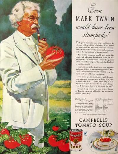 Amikor a sztárok pénzért még BÁRMIT reklámoztak – Mark Twain tényleg nem válogatott