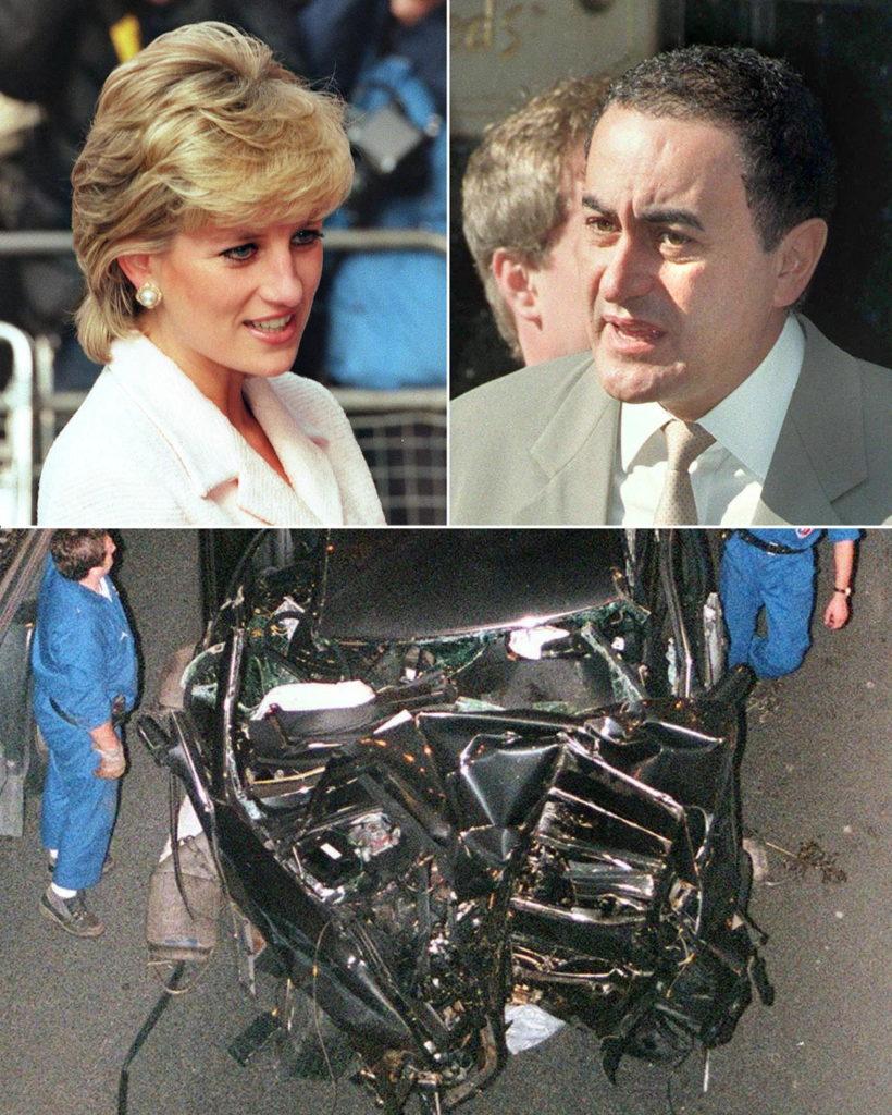 Az 1997-es tragédiban elhunyt Diana hercegnő és Dodi Fayed (Fotó: ARCHIVES / AFP)