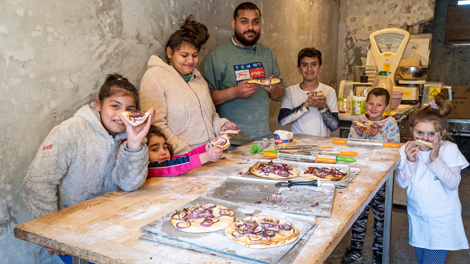 Alex, a pék jövőt ad a szegény gyerekeknek