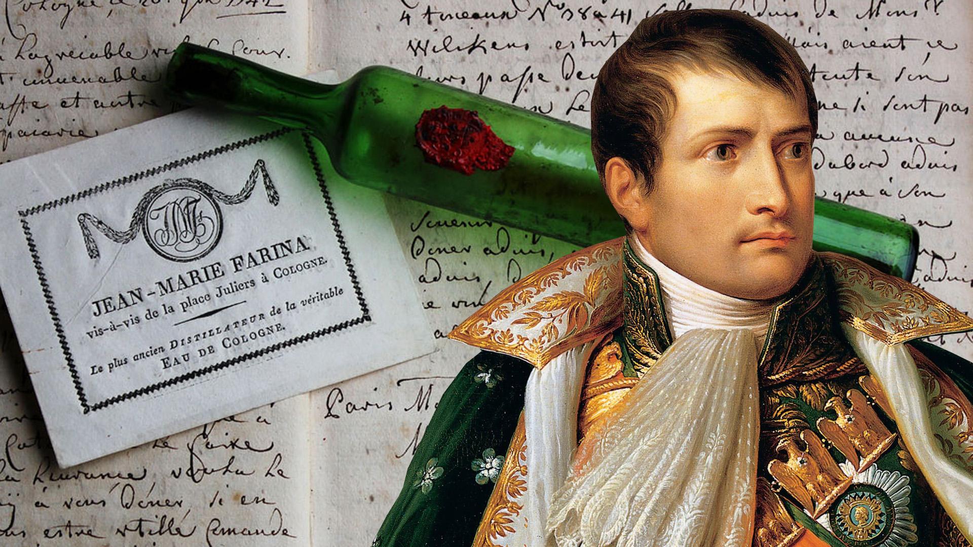 Napoleon liter számra locsolta magára kedvenc parfümjét