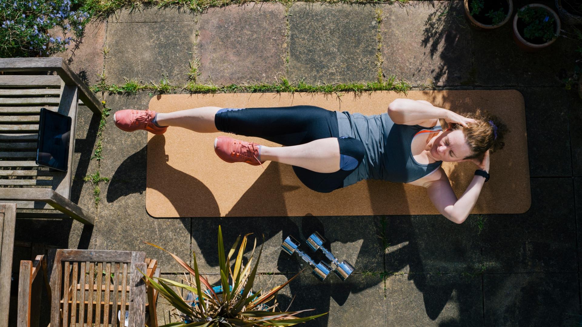Sérülés nélkül edzés otthon