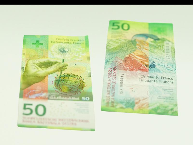 Svájc, 50 frank