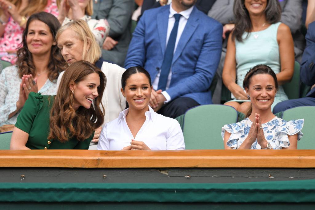 Meghan Markle, Katalin hercegné és Pippa Middleton