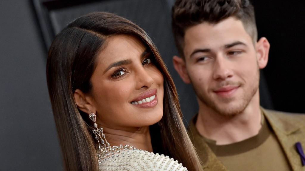 Az Oscar-jelöltek bejelentői: Priyanka Chopra Jonas és Nick Jonas (fotó: Axelle/Bauer-Griffin/FilmMagic)