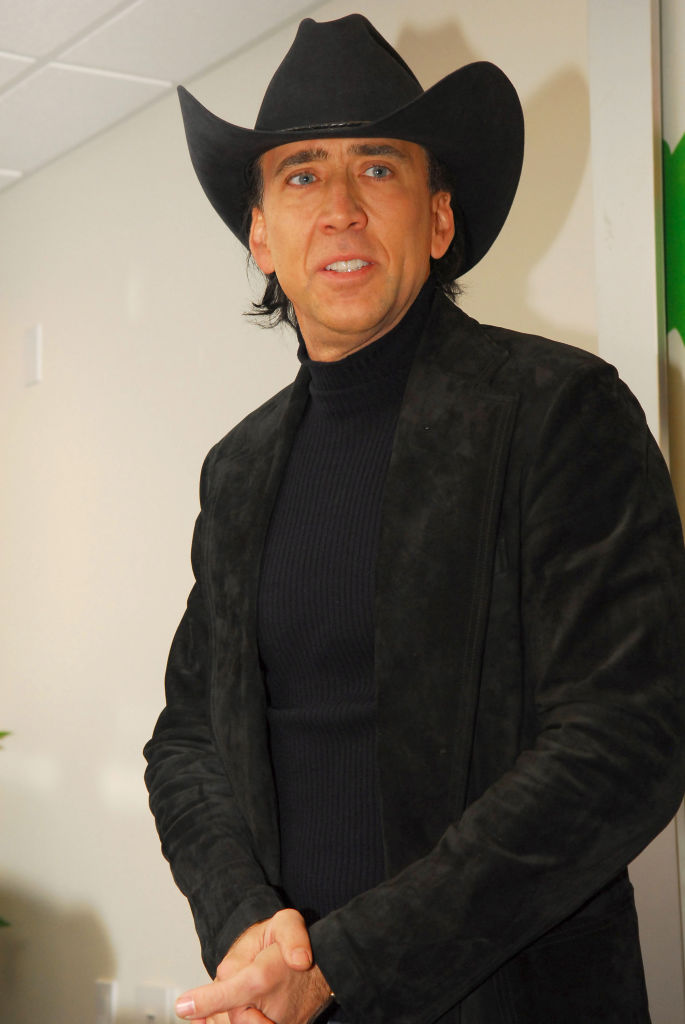 Nicolas Cage, a Dallas-szexuális (Photo by Jeff Daly/FilmMagic)