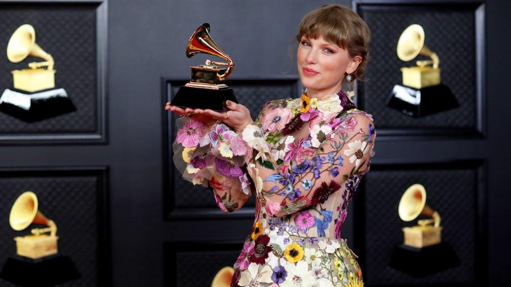 Taylor Swift a 63. Grammy-gálán.