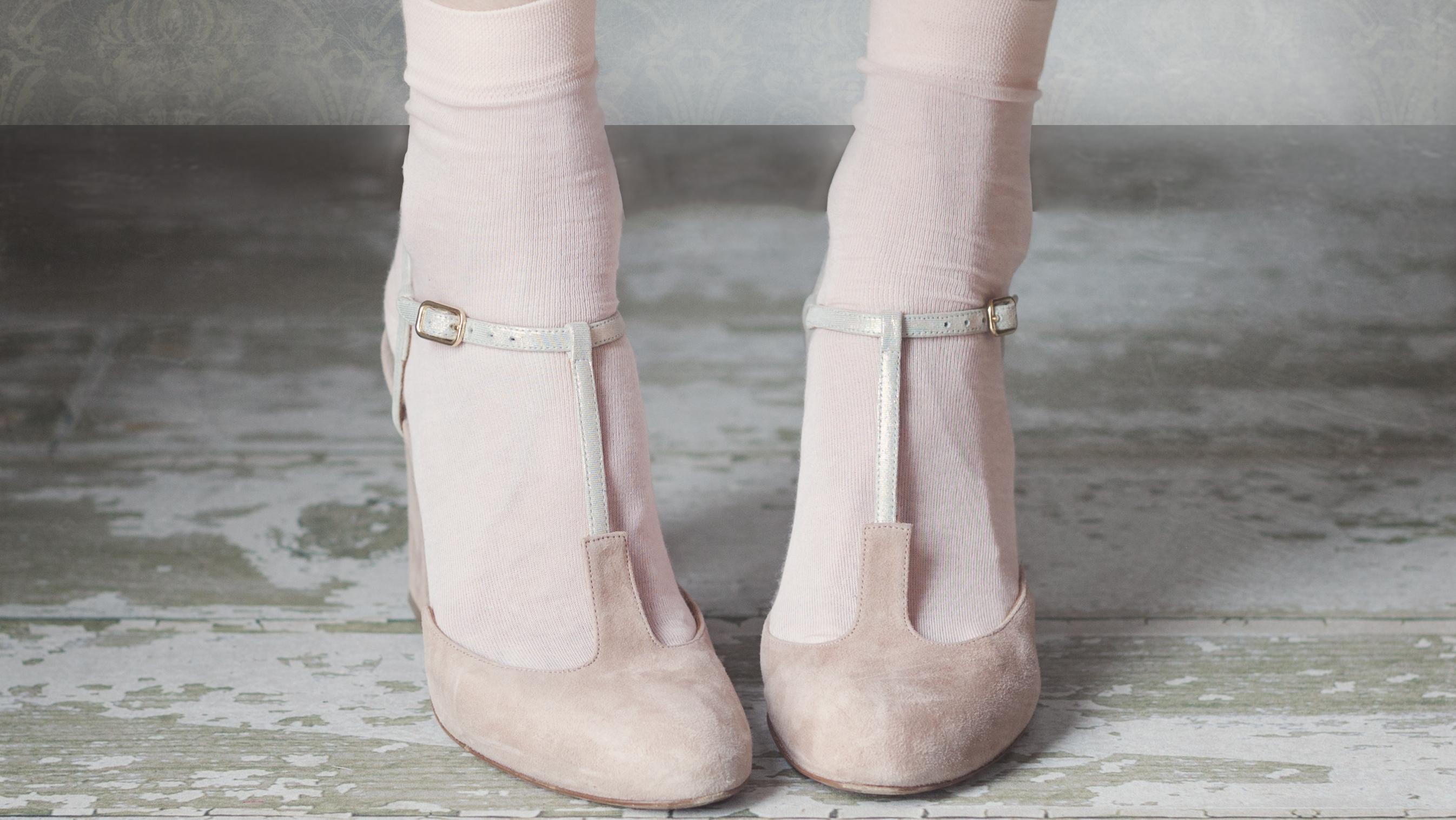 Cipő-zokni