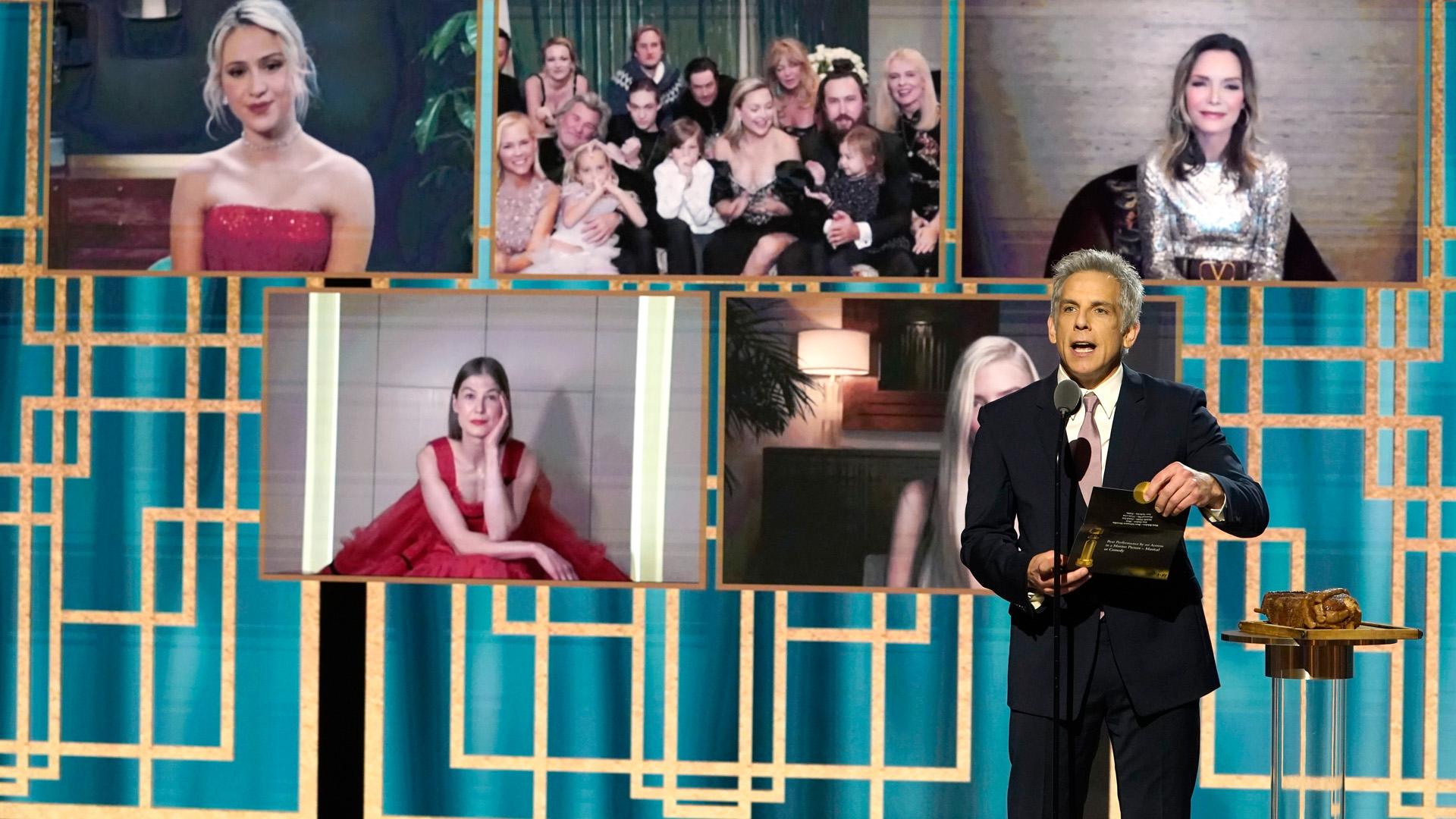 Tarolt A korona és A vezércsel a Golden Globe-on