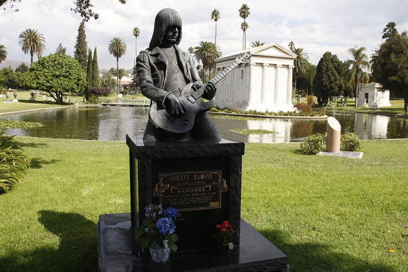 Johnny Ramone síremléke