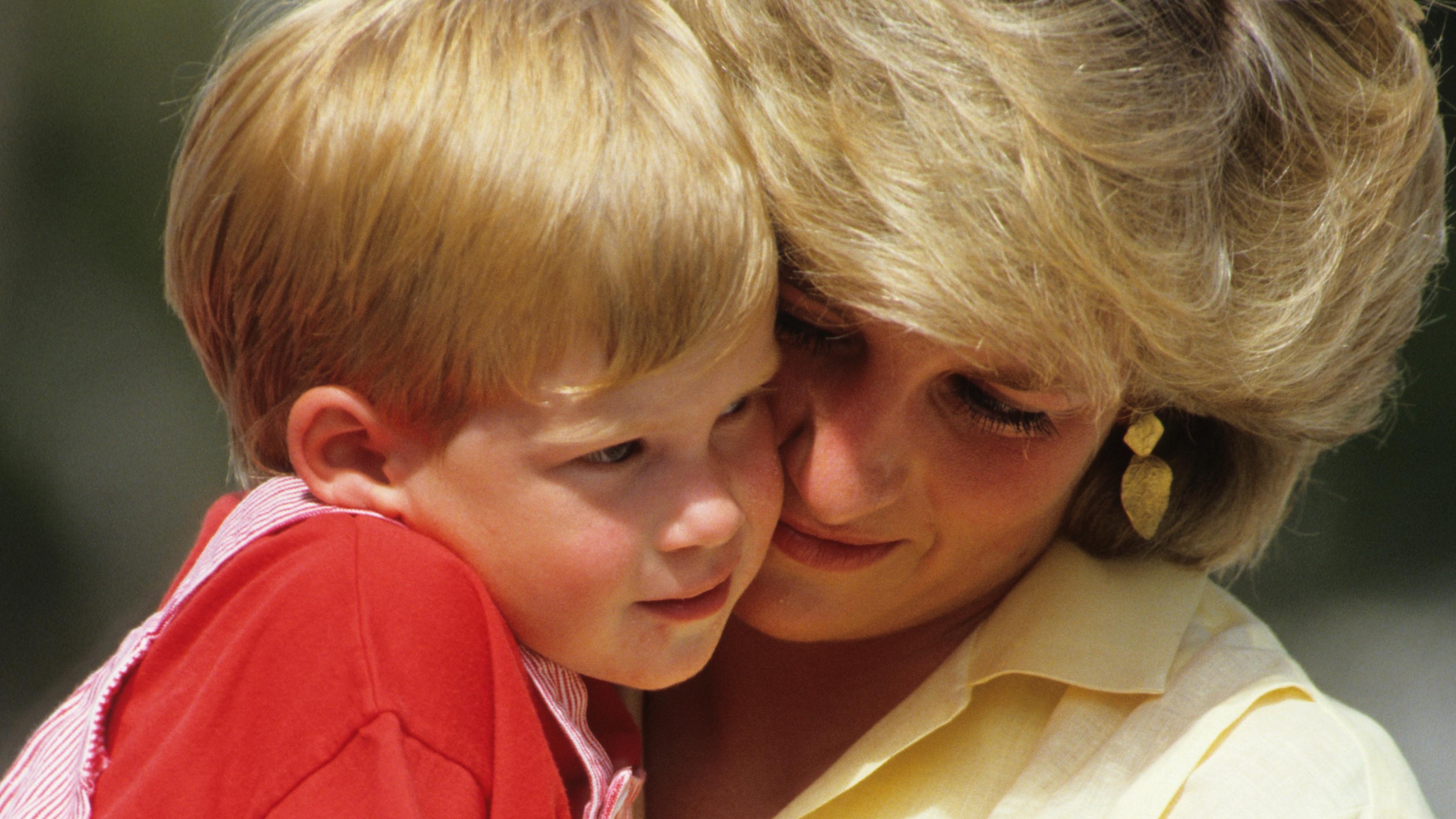 Diana hercegnő és Harry herceg
