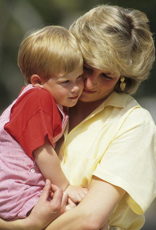 Harry és Diana Mallorcán, 1987-ben