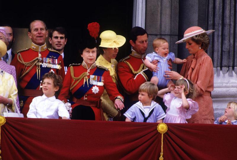 A királyi család 1985-ben
