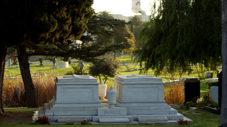 Cecil B. DeMille síremléke