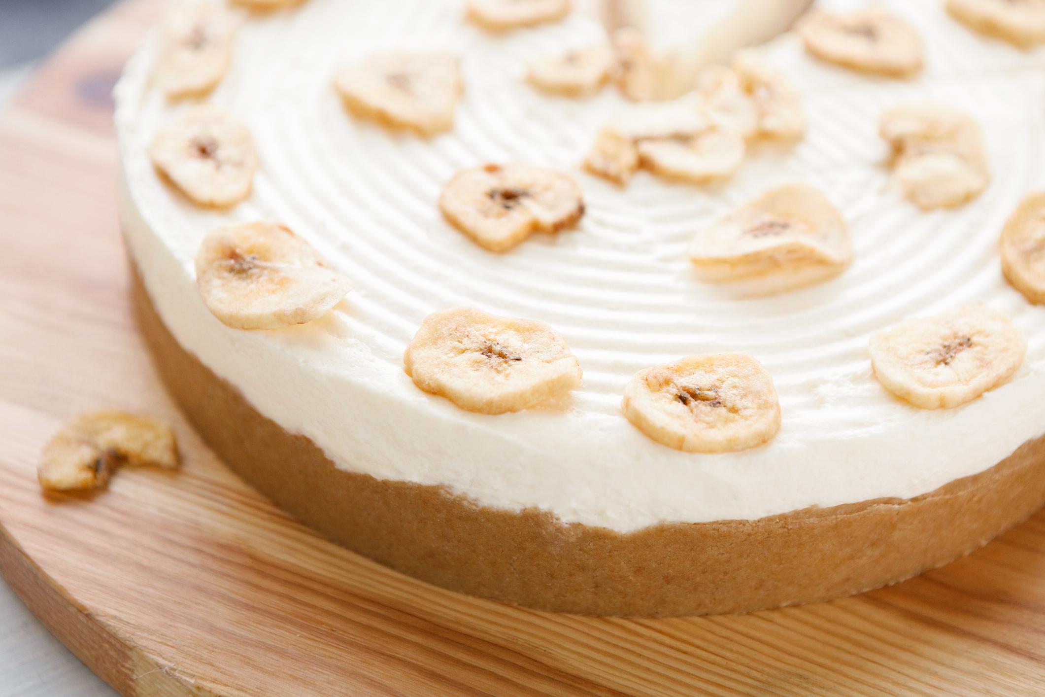Bögrés banános húsvéti süti