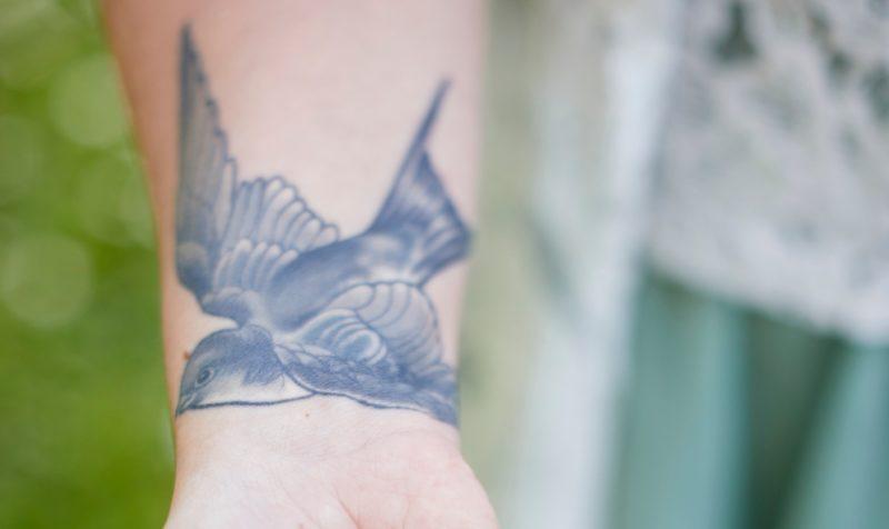 Madaras tetoválás