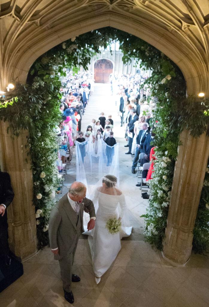 Károly herceg és Meghan Markle az esküvőn