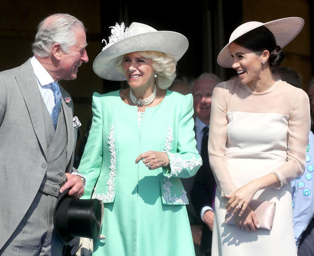 Meghan Markle Károly herceg és Camilla