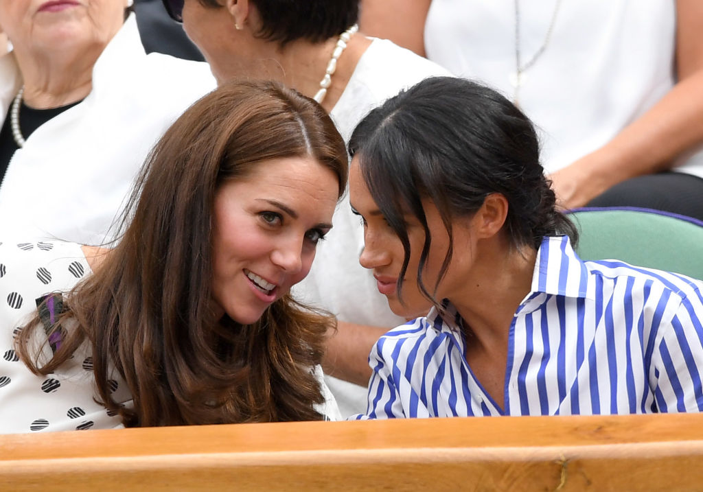 Meghan Markle és Katalin hercegnő 2018-ban
