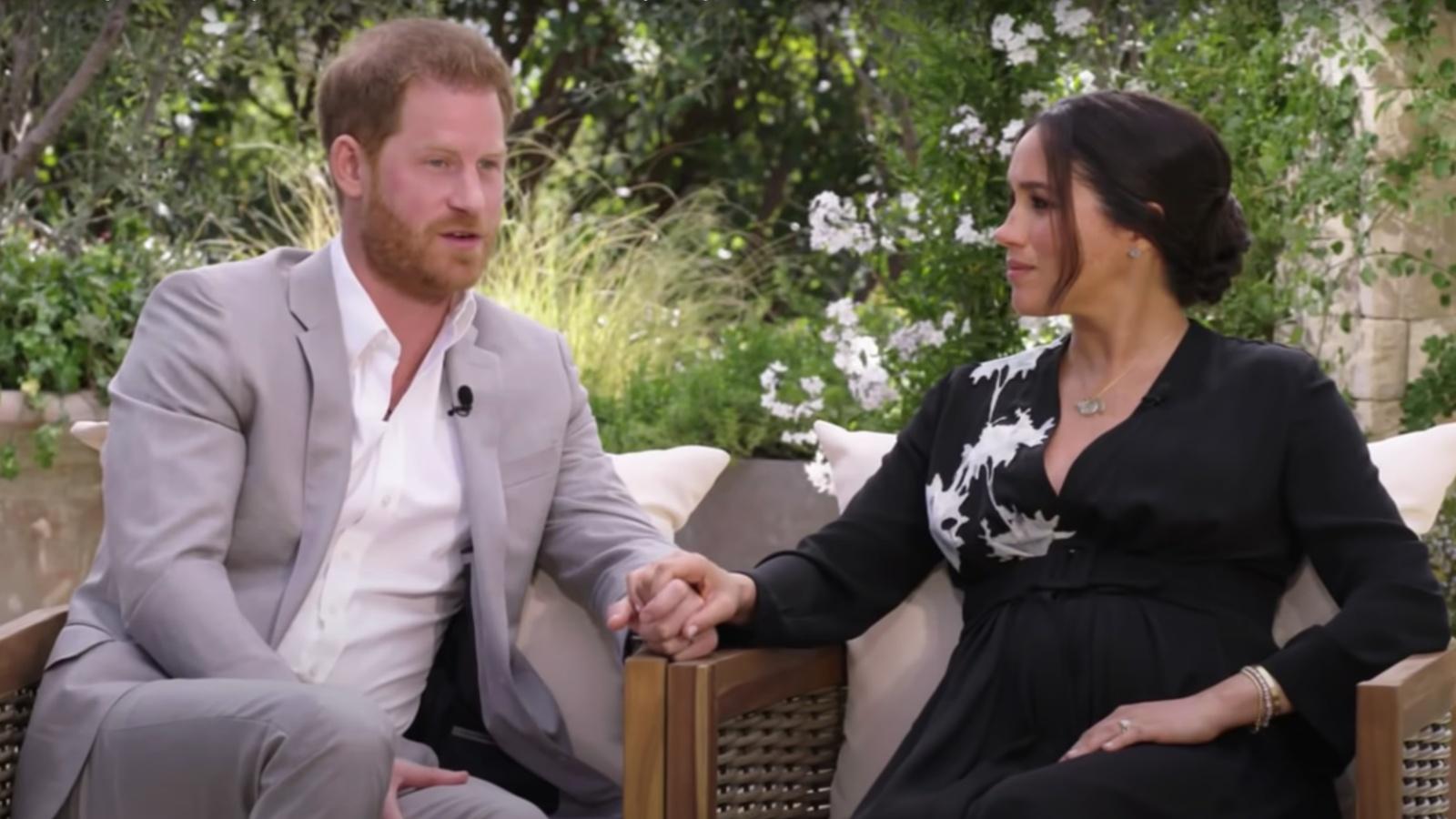 Harry herceg és Meghan Markle Oprah-nál