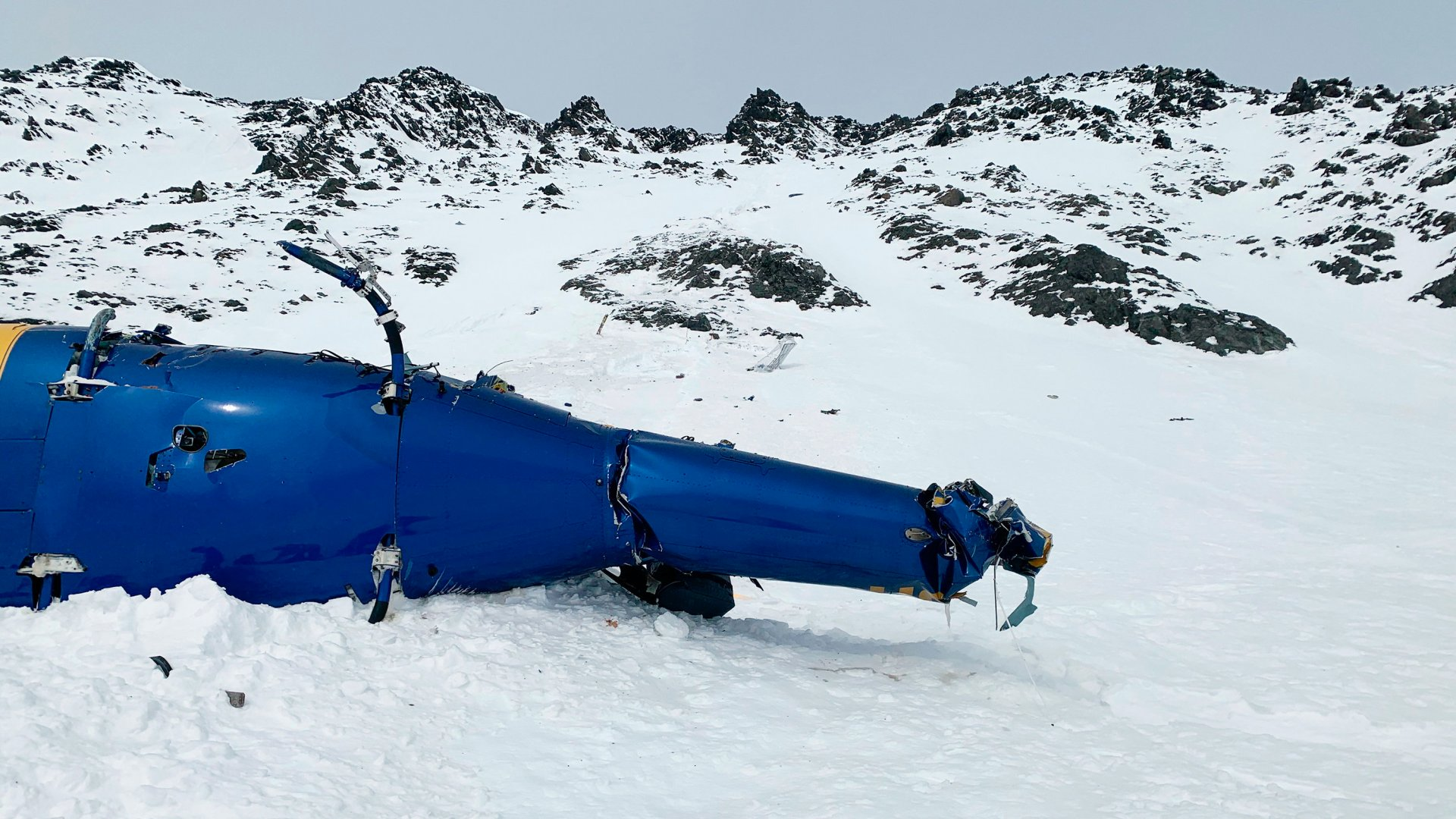 Helikopterbaleset Alaszkában