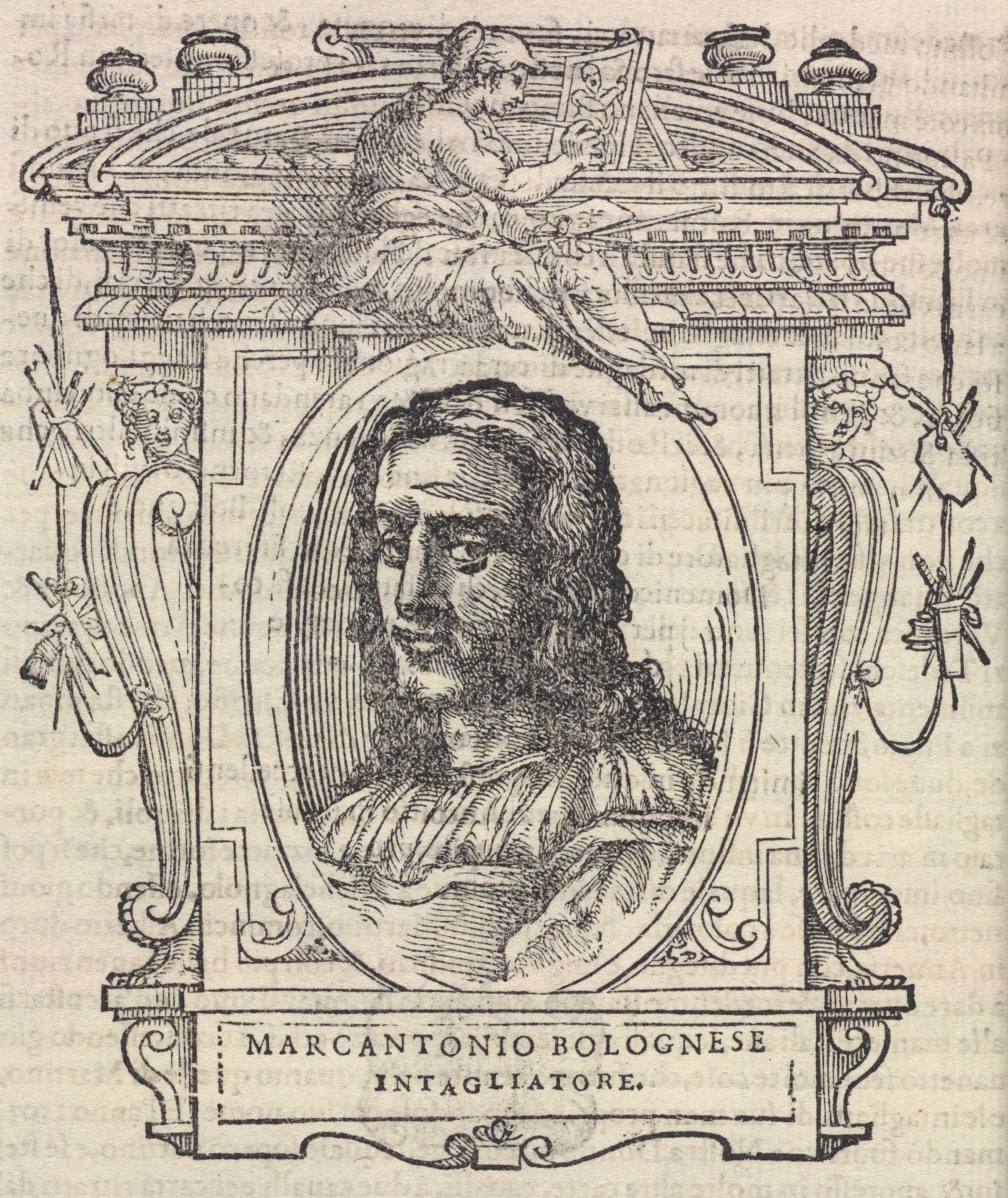 Marcantonio Raimondi, a reneszánsz pornó úttörője (forrás: Wikipedia)