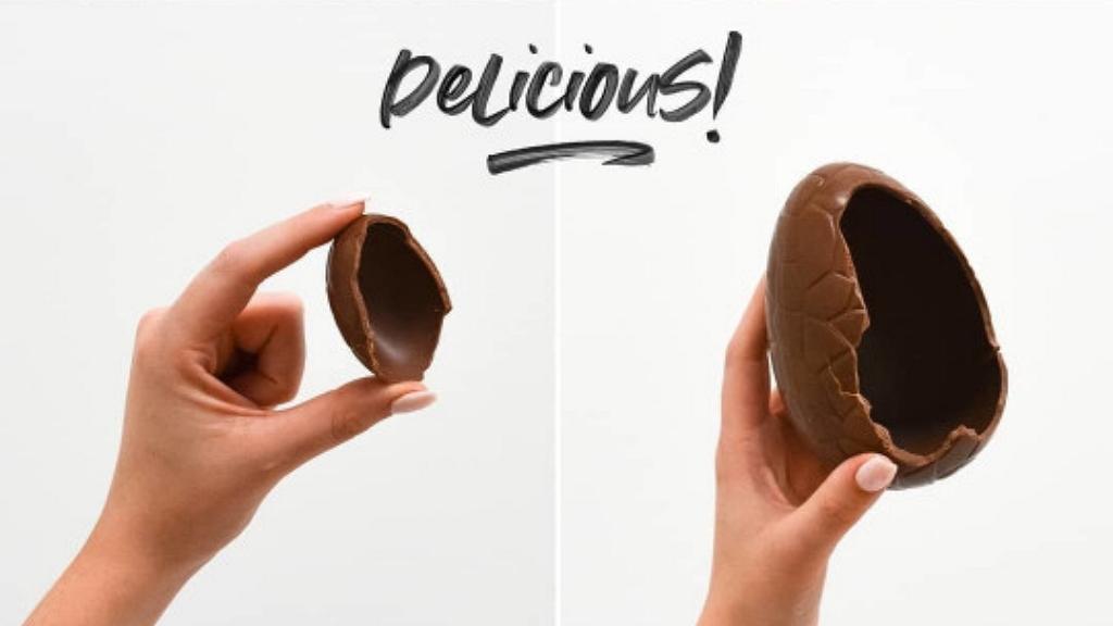 Csokitojás mérete