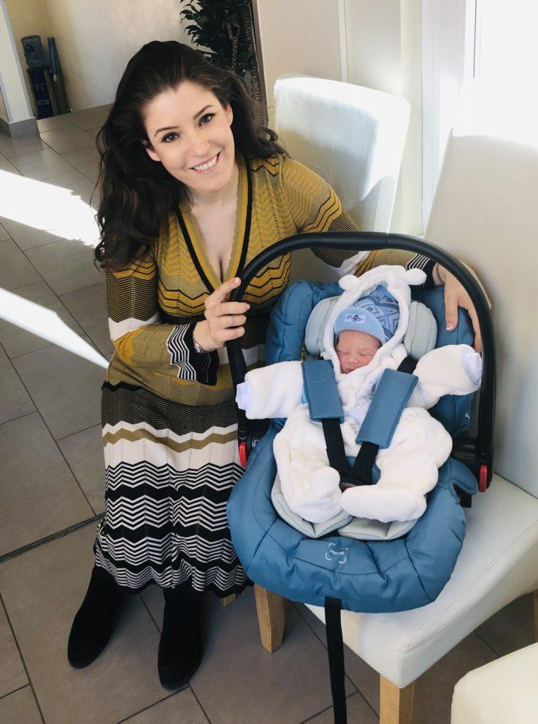 Megszületett Magony Szilvi kisfia, csodaszép nevet kapott
