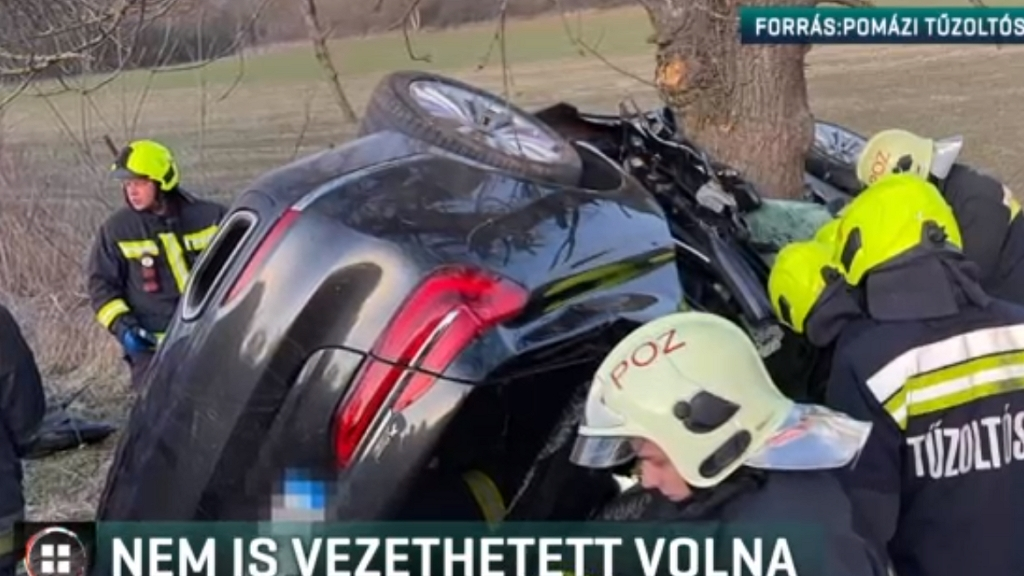 Nem vezethetett volna, mégis hatalmas balesetet okozott egy fiatal férfi