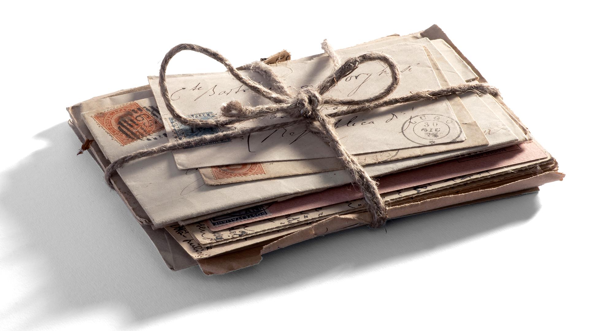 70 éve írt levelek kerültek elő