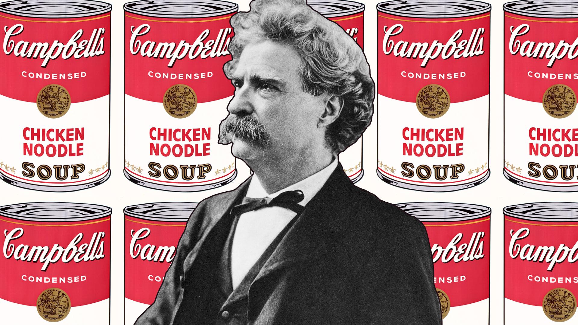 Tudtad, hogy Mark Twain a kora Kim Kardashianje volt, mert olyan sok terméket reklámozott?