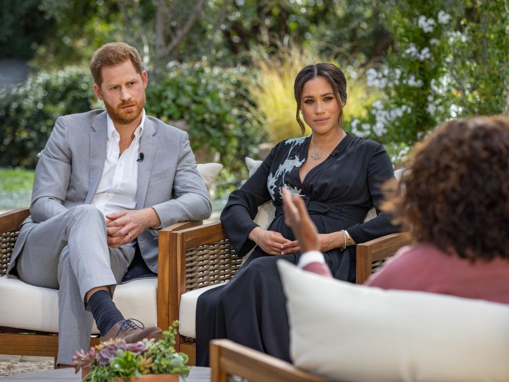 Meghan Markle és Harry herceg Oprah Winfrey show
