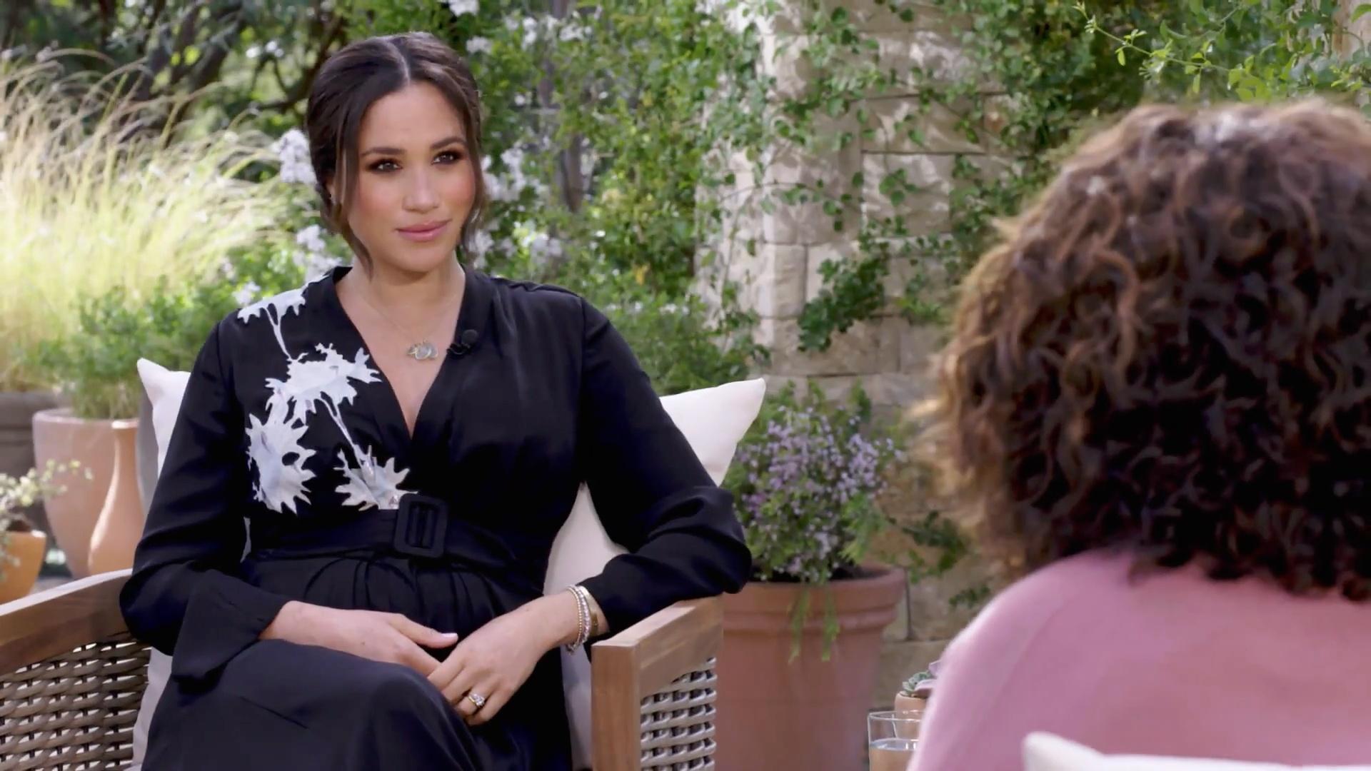 Meghan Markle az Oprah-interjún