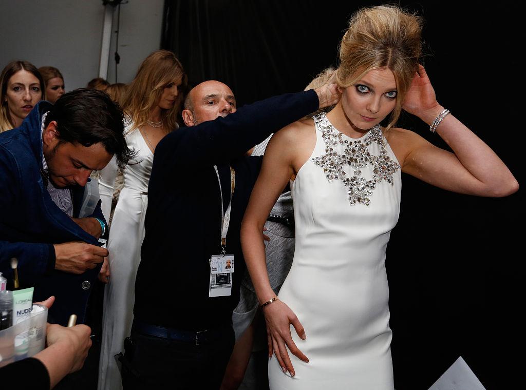 Mihalik Enikő csodaszép volt a fehér ruhájában