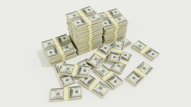 Pénzkötegek