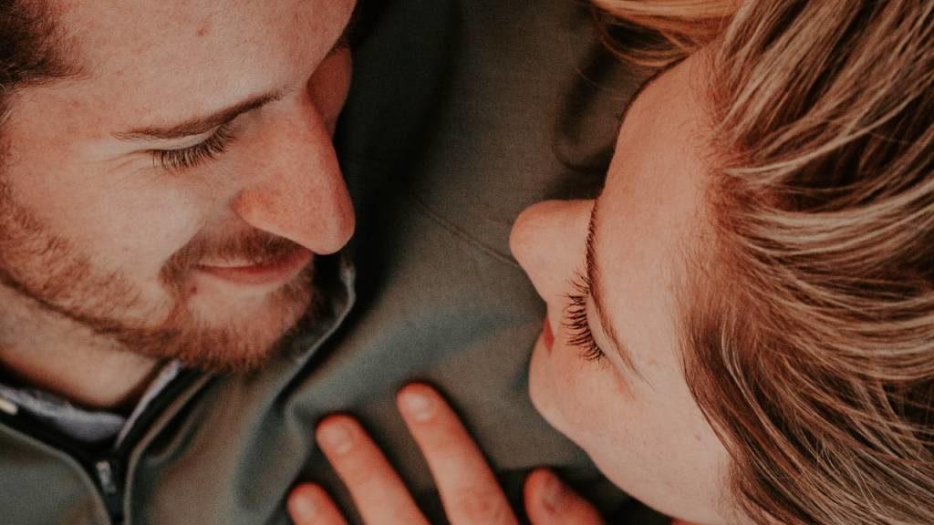 szerelmes férfi és nő