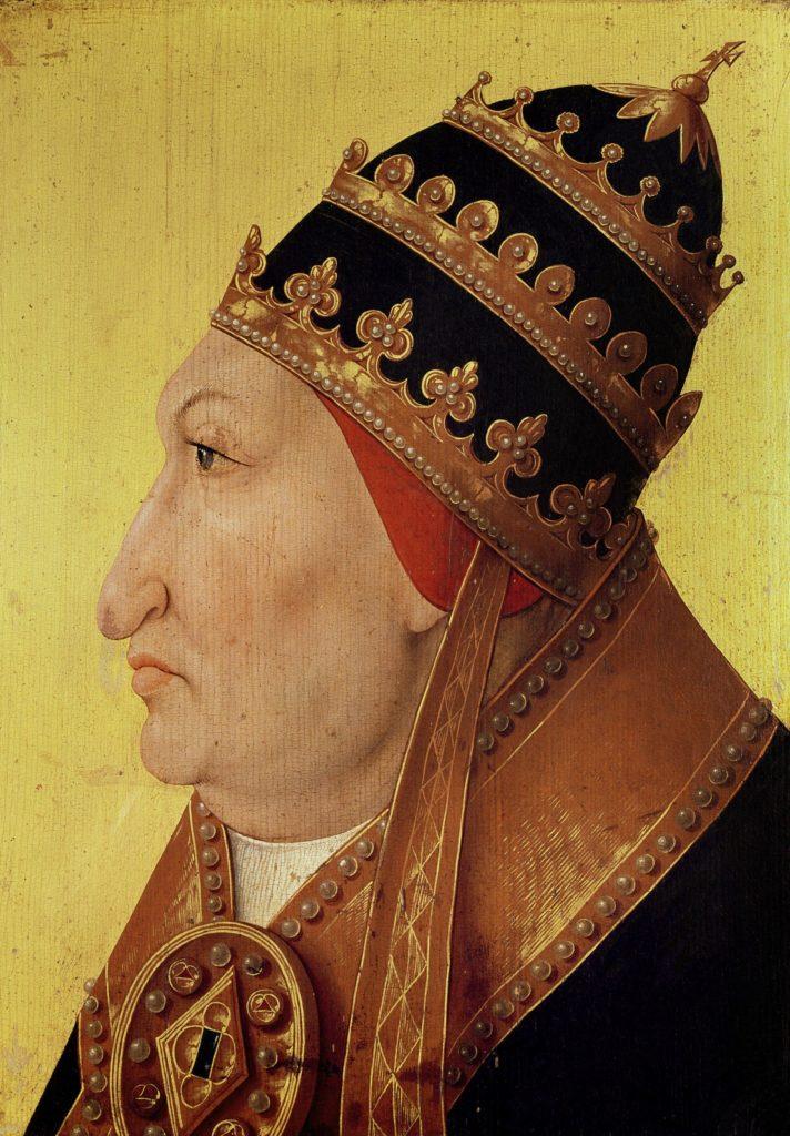 Pompás festmény egy pápáról (forrás: Wikipedia)