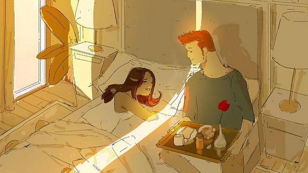Szívmelengető illusztrációk mutatják meg az otthon töltött idő meghittségét
