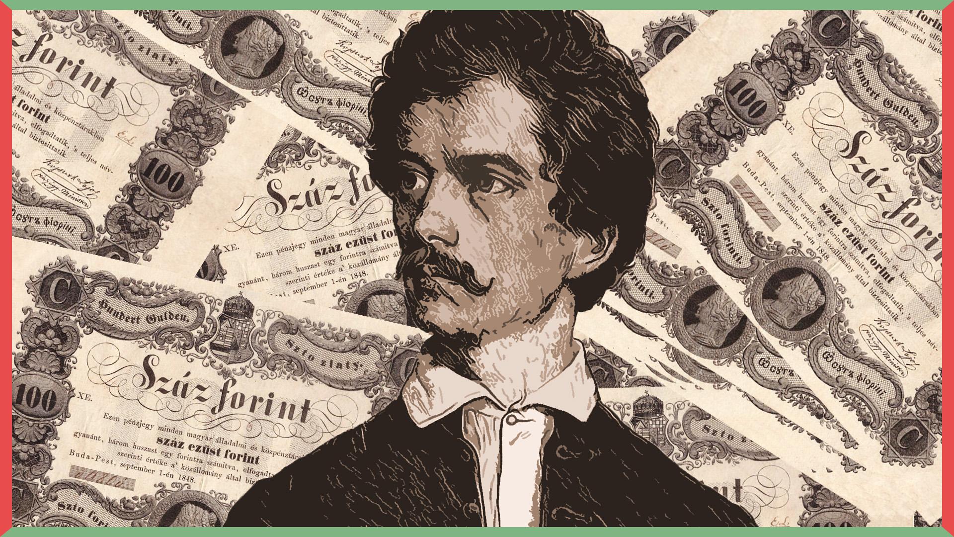 Petőfi Sándor kölcsönkért tízezer forintot egy londoni útra, aztán fellépett egy cigányzenekarral