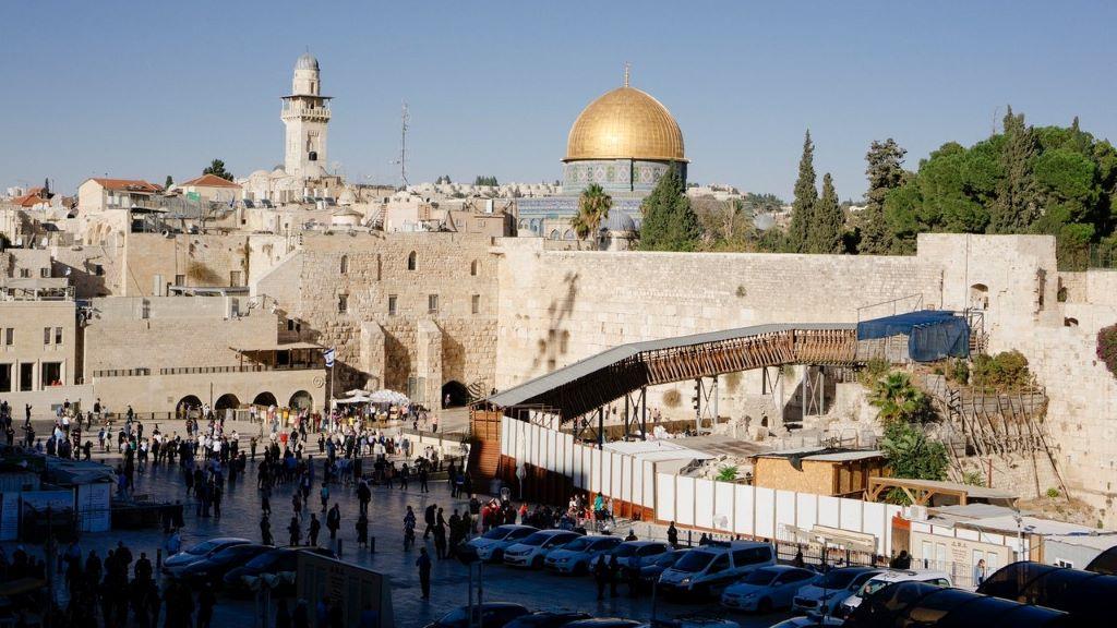 izrael, város, koronavírus