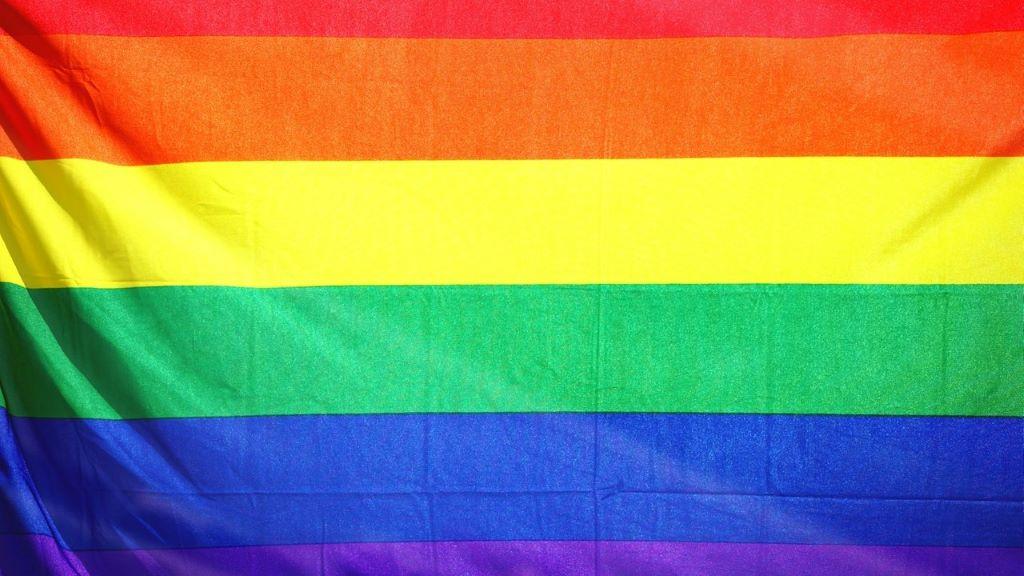 szivárvány, zászló