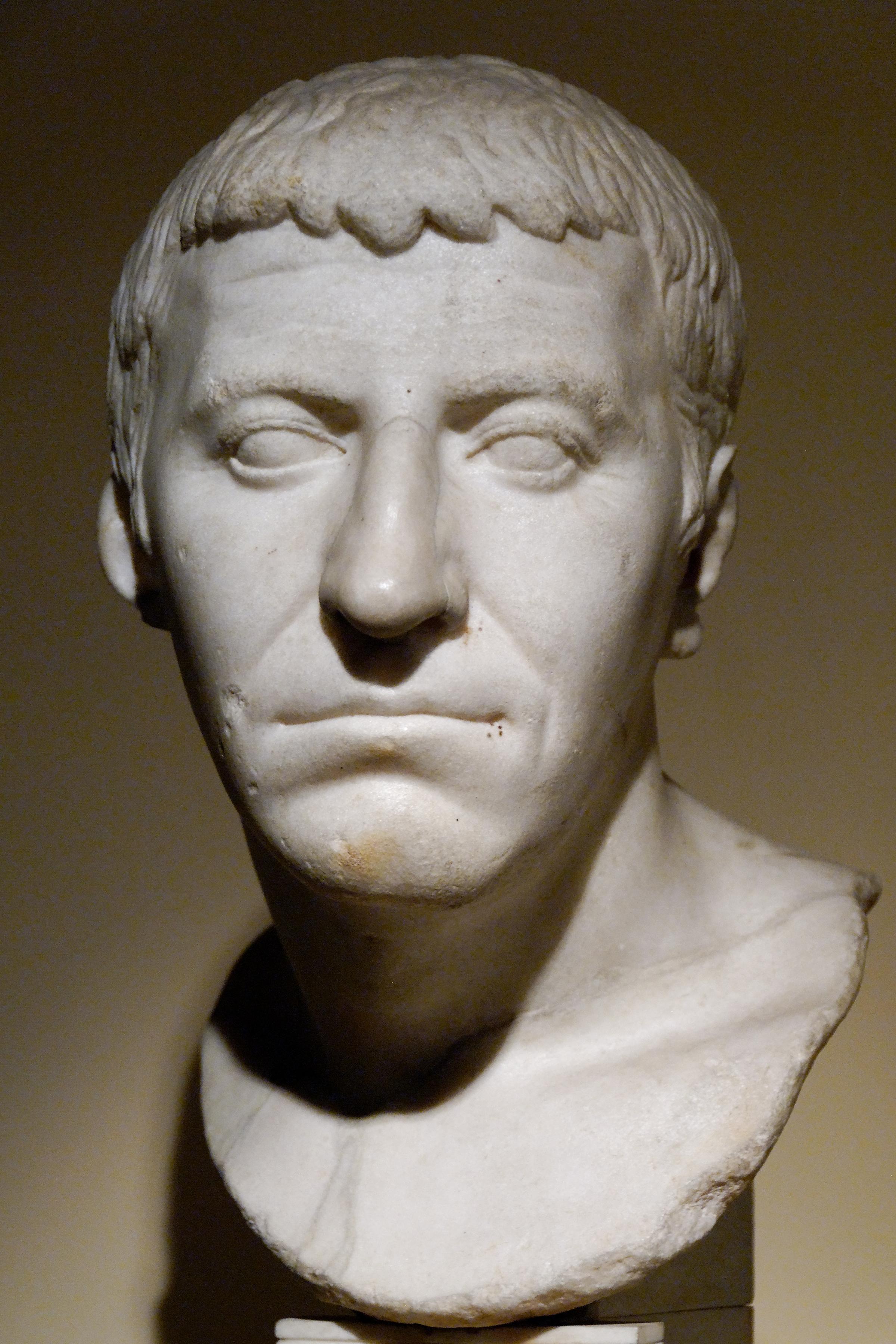 Cassius, az összeesküvés egyik vezére (fotó: Wikipedia)