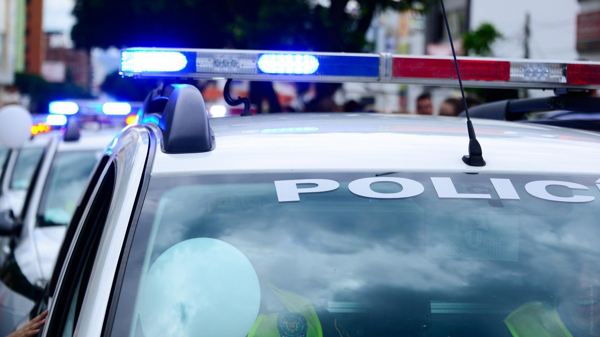Rendőrautó sziréna