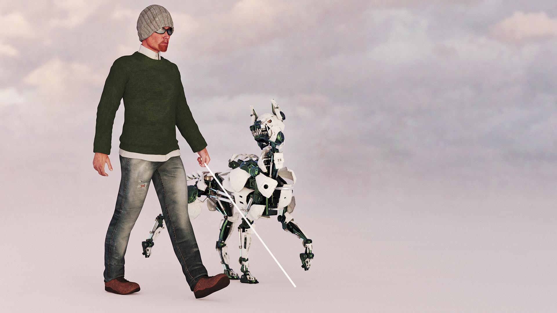 Kutya helyett mesterséges intelligencia segíti a vakokat