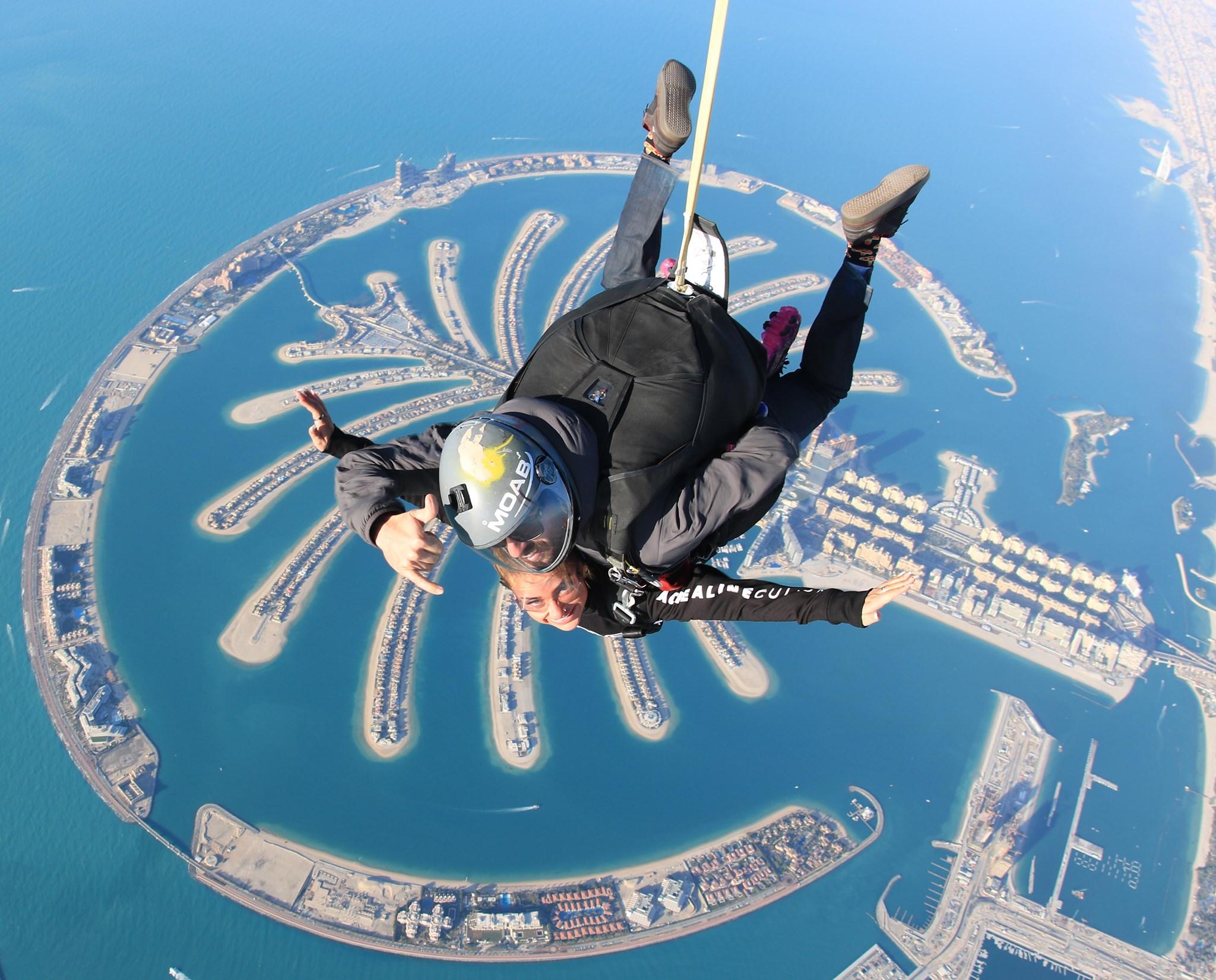 Fotó: SkyDive Dubai Facebook
