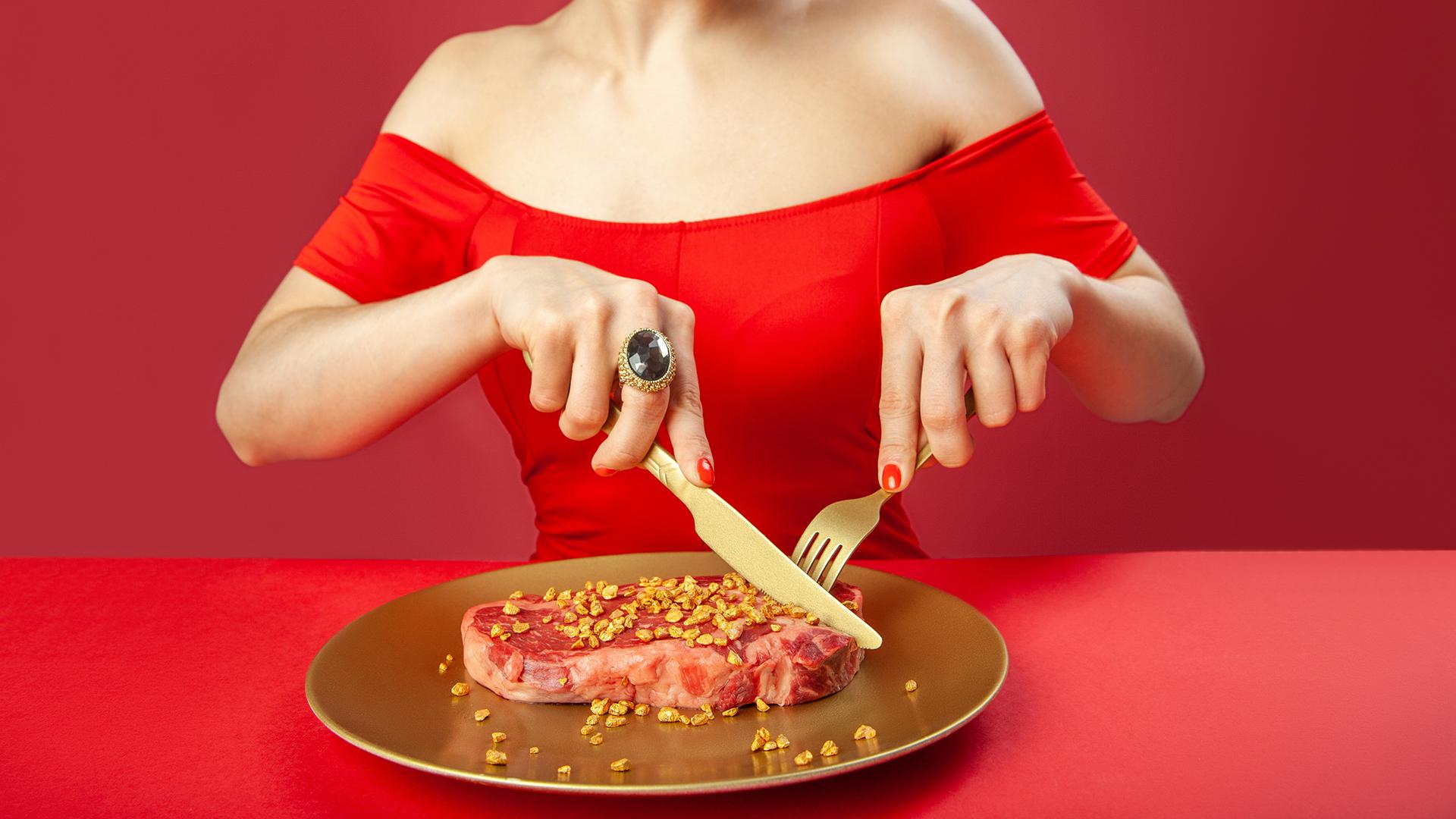 300 ezer forintnál is többet kérnek az aranyozott steakért