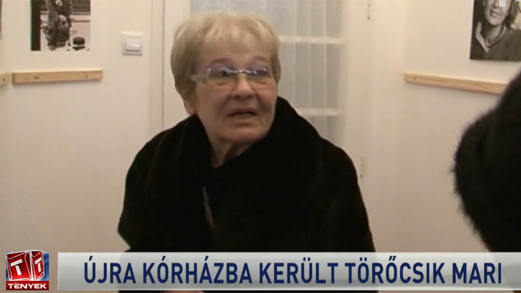 Törőcsik Mari kórházba került, erről a Tények számolt be március 15-én