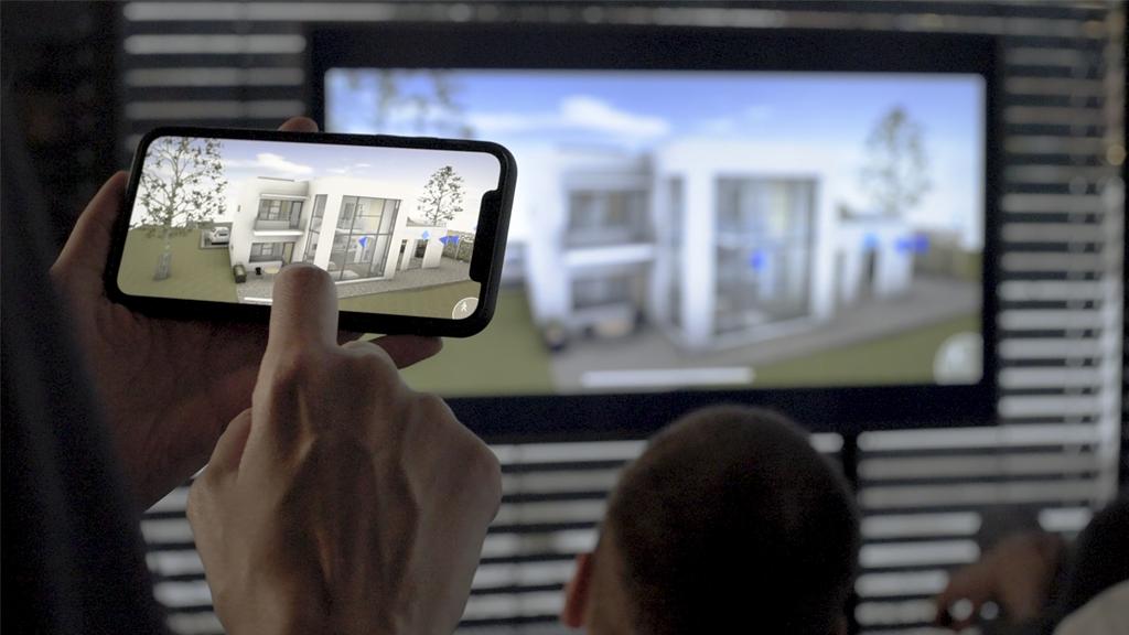 Mint egy videójátékban, úgy járjuk be házunk virtuális tervét (x)