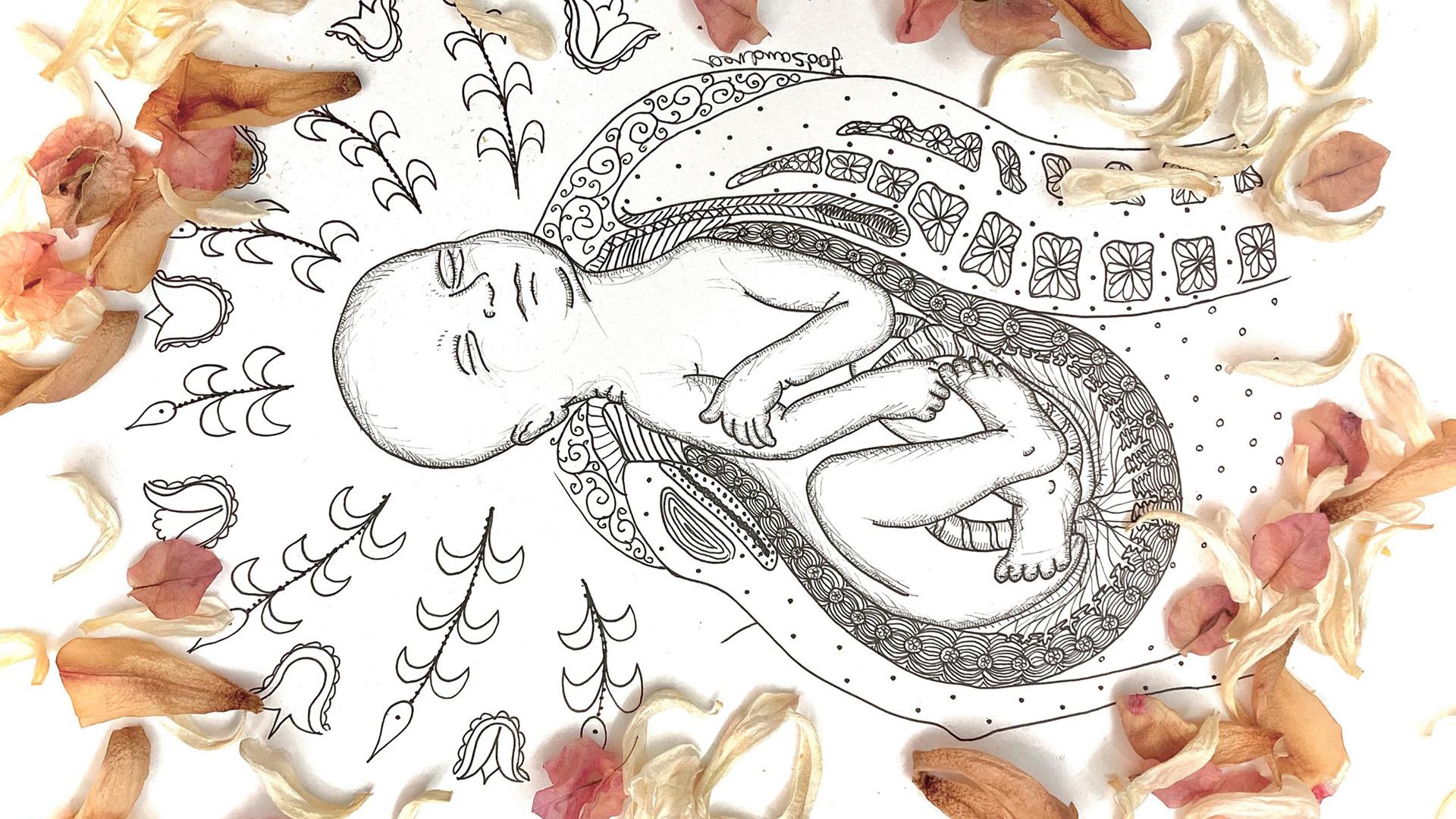 Színező készül a könnyebb szülésért