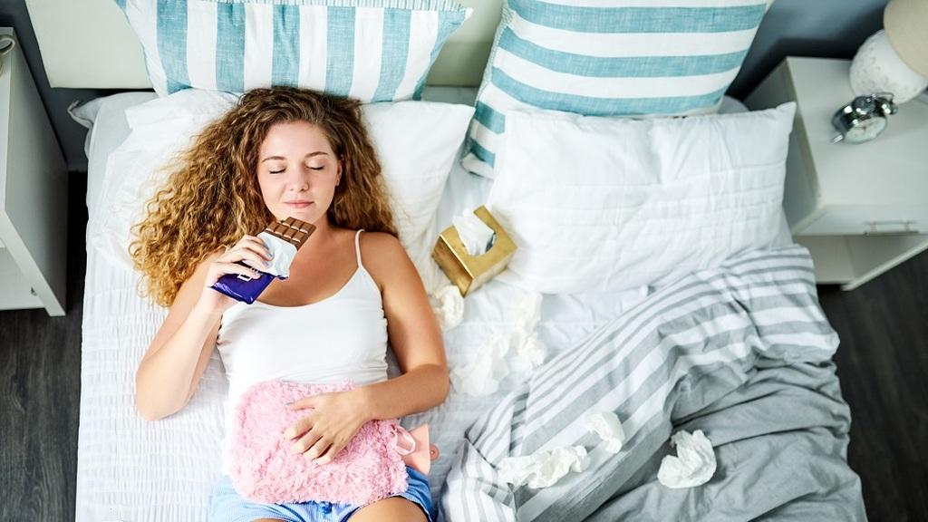 PMS tüneteinek enyhítése
