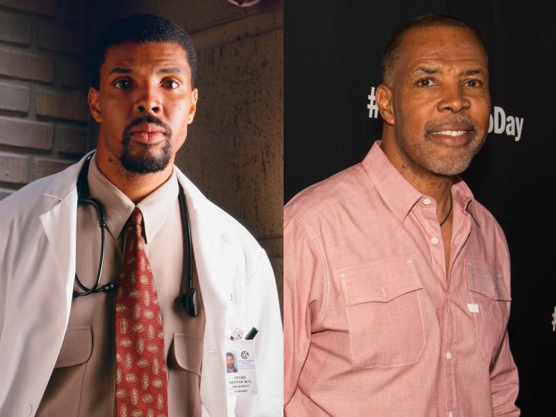 Eriq La Salle Benton doktor szerepében és 2019-ben